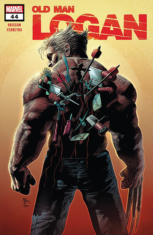 Old Man Logan #44 [Signed Edition by Mike Deodato Jr]