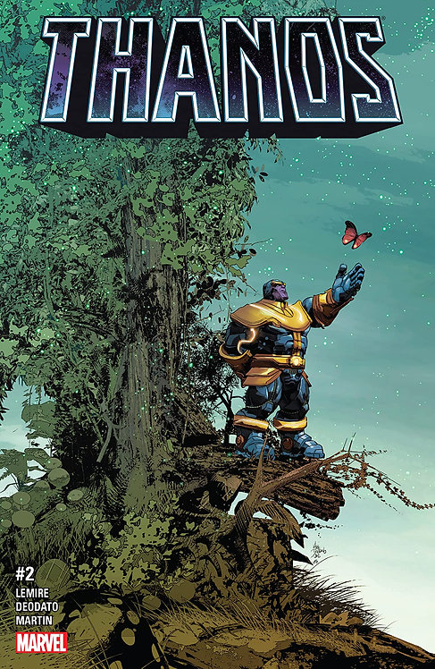 Thanos #2 [second printing]