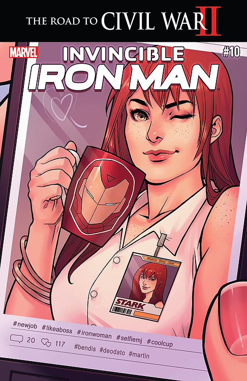 Invincible Iron Man #10 [Civil War II]