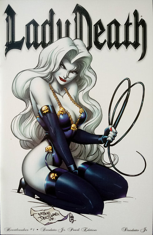 Lady Death - Heartbraker #1 - Mike Deodato Jr. Pearl Cover