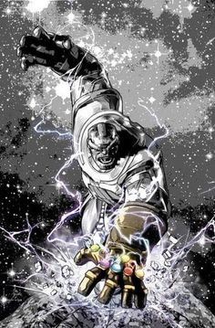 Thanos Legacy #1[ Variant Cover B&W Special Edition NYCC]