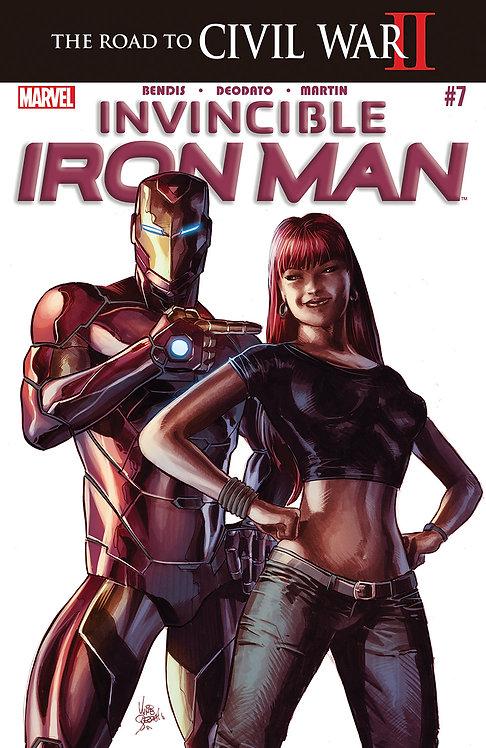 Invincible Iron Man #7 [Civil War II]