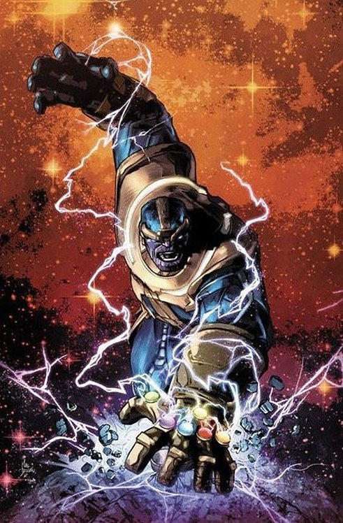 Thanos Legacy #1[ Variant Cover Color Special Edition NYCC]