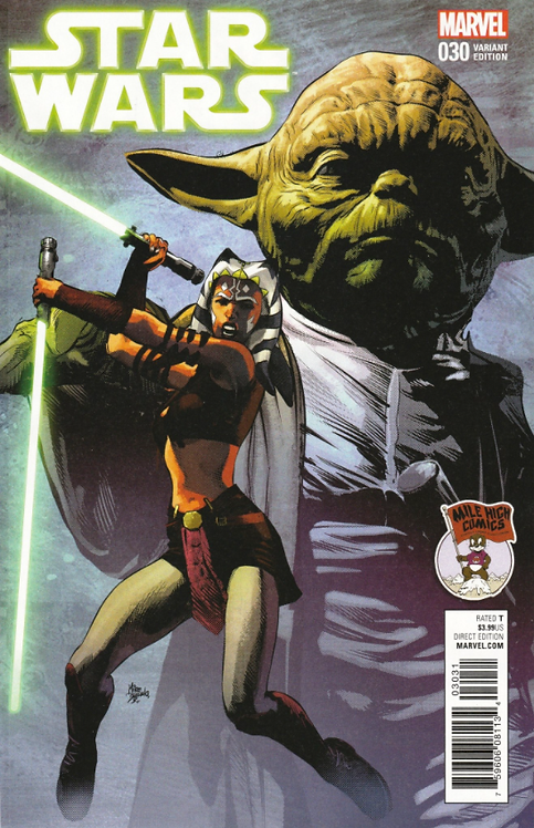 Star Wars #30 [variant cover by Mike Deodato Jr.]
