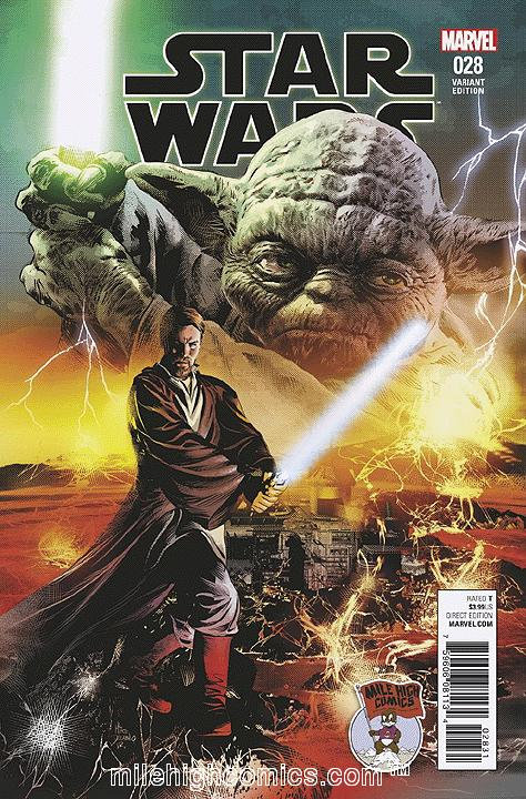Star Wars #28 [variant cover by Mike Deodato Jr.]