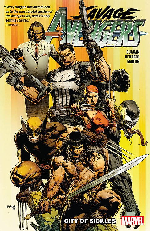 Savage Avengers: City of Sickles