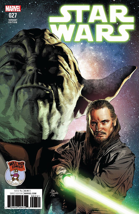 Star Wars #27 [variant cover by Mike Deodato Jr.]