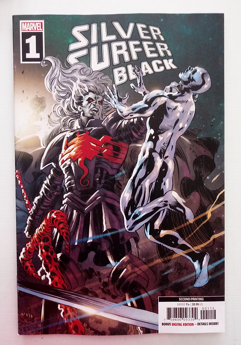 Silver Surfer Black #1 [Signed Edition by Mike Deodato Jr]