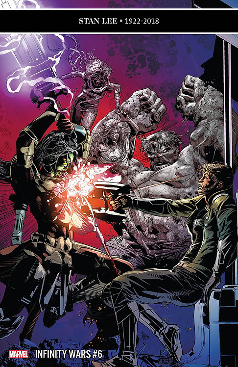 Infinity War #6 - Cover by Mike Deodato Jr