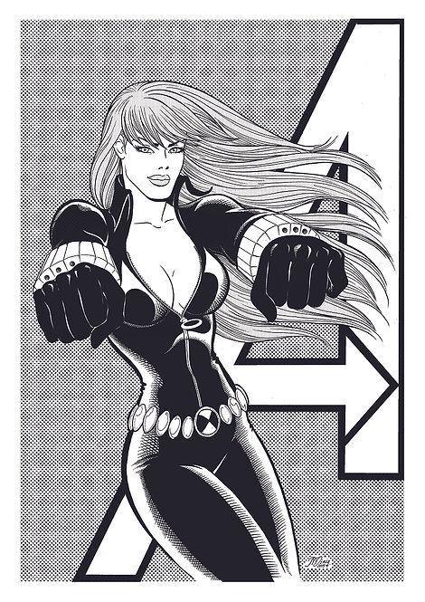 Black Widow - print