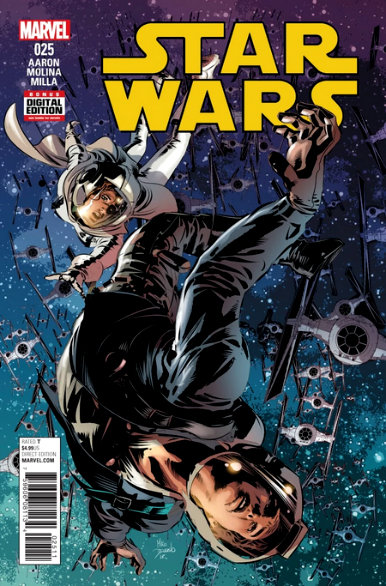 Star Wars #25 [variant cover by Mike Deodato Jr.]