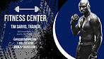 Copy of Fitness Center Business Card - M