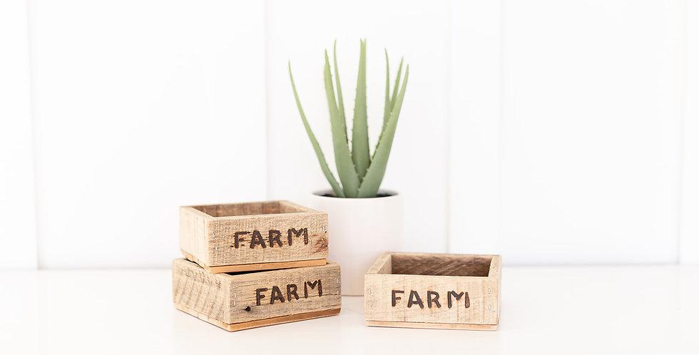 The 1- Acre FARM box