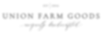 Union Farm Goods logo.png