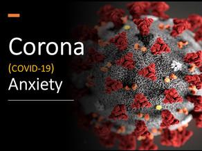 Corona Anxiety