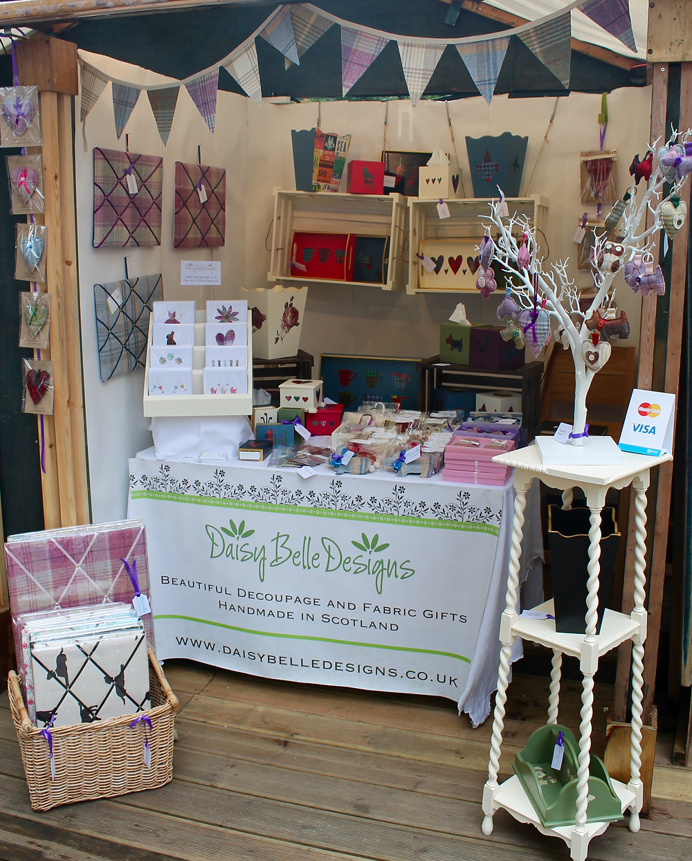 Daisy Belle Designs Craft Fair Stall