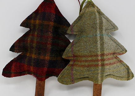 Tweed Christmas Tree