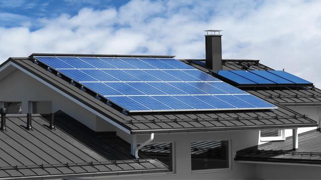Solar roof orange county