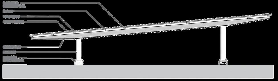 Long-Span solar carport