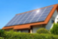 bigstock-Solar-Panel-On-A-Red-Roof-14532