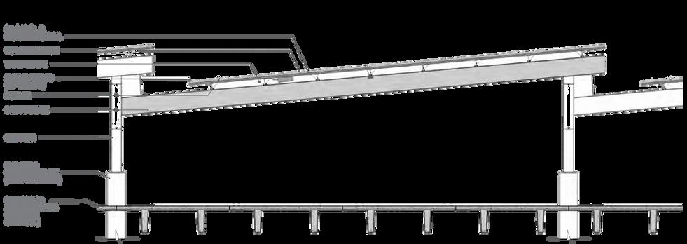 Garage solar carport