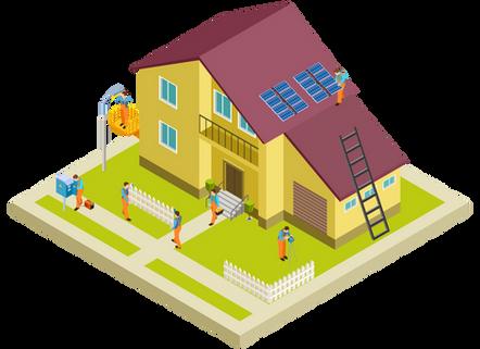 Solar install diagram