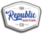 The Republic Auction Logo
