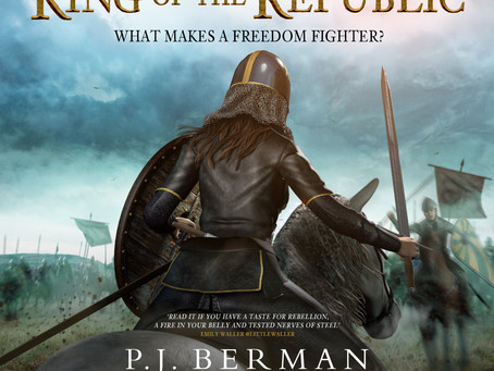 Love Audible? King of the Republic is OUT NOW!
