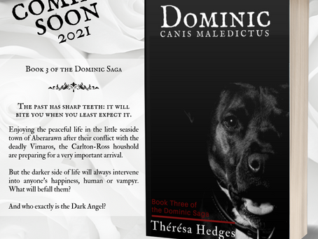 Cover Reveal - Thérésa Hedges - Canis Maledictus