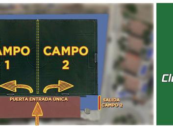 Inicio Pretemporada y Protocolo COVID-19 [Fútbol Base]