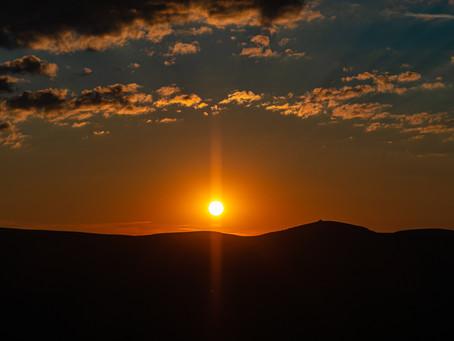 Coucher de soleil au Steinberg