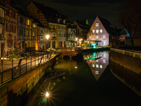 Visite nocturne à Colmar