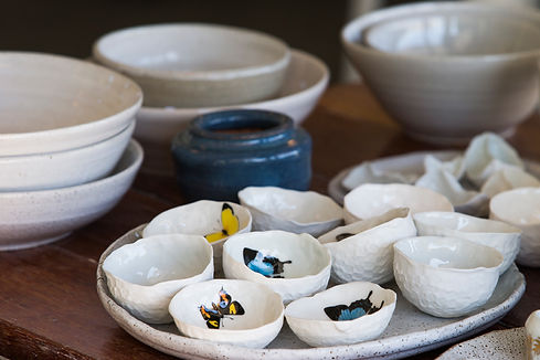 Hand made ceramics, The Clay Barn