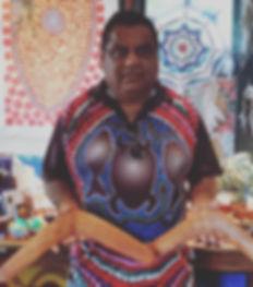 Michael Walker, handmade boomerangs, Bundjalung