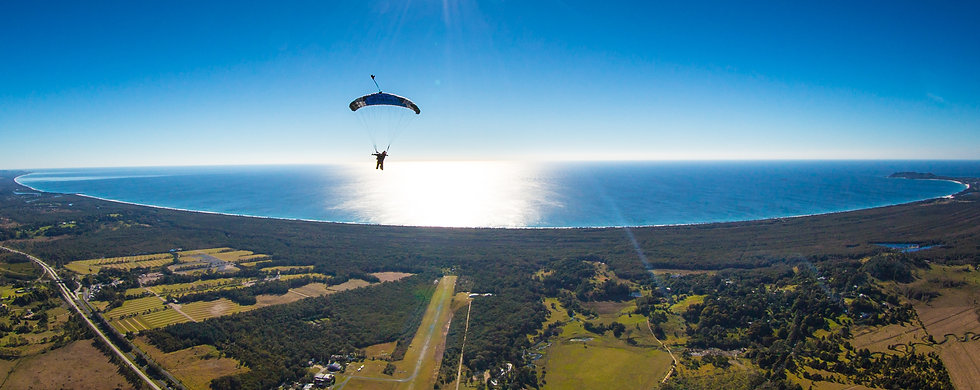Skydiving Byron Bay