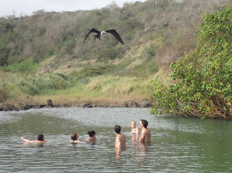 Lagune d'eau douce