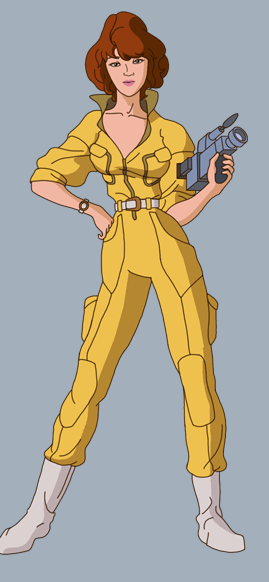 April O'Neil Costume