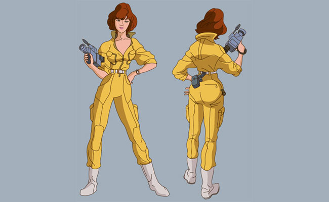 April O'Neil Costume TMNT