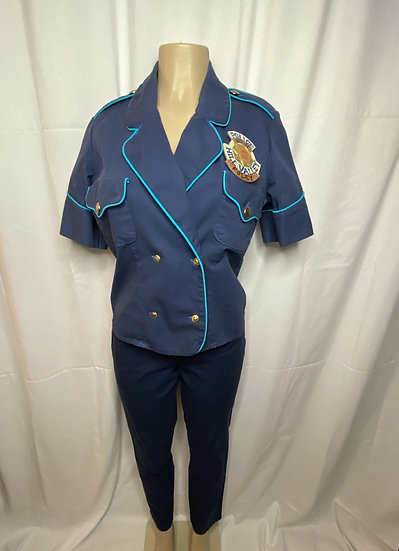 Back to the Future Cop Uniforms