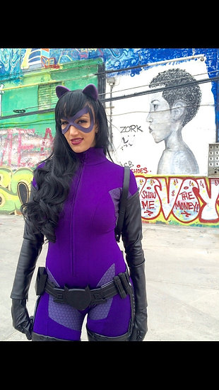 KD Purple Catwoman Costume Replica