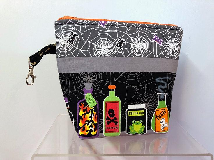Poison Cosmetic Bag ~ Halloween Bag