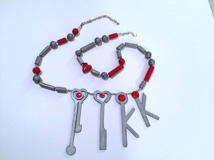 Sailor Pluto Key Chain Belt