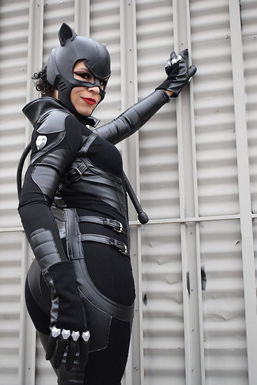 Black on Black Catwoman Costume