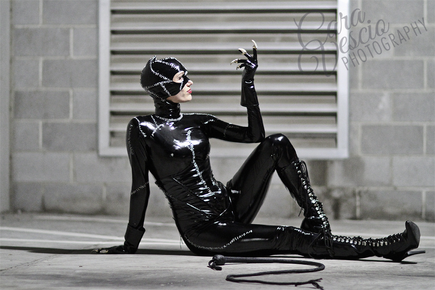 Michelle Pfeiffer Catwoman Costume