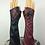 Thumbnail: Harley Quinn Arkham City Stretch Gloves LONG