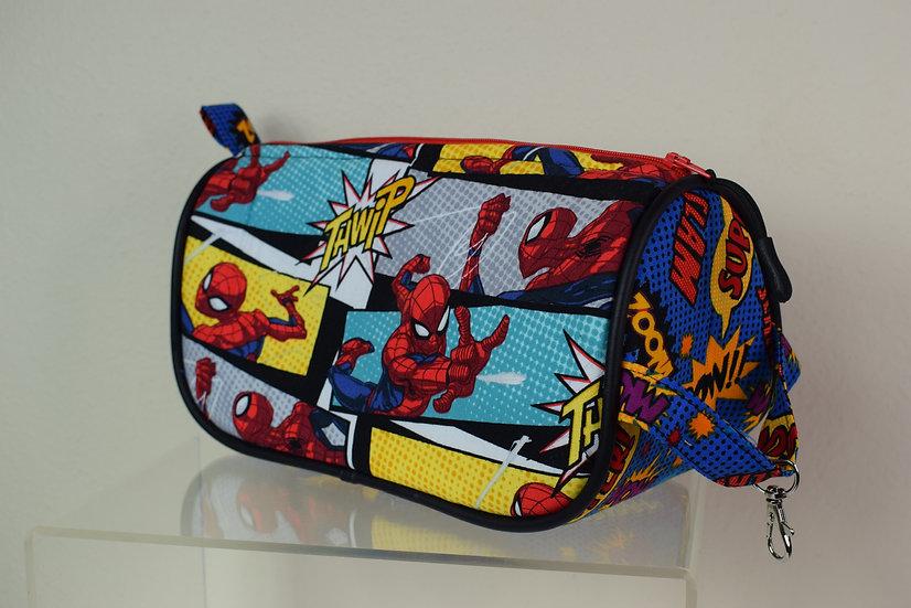 Spider Man Inspired Cosmetics Bag
