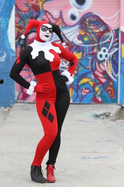 Classic Harley Quinn Costume