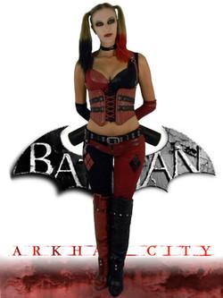 Arkham City Harley Quinn CostumeCITY