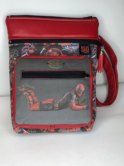 SiQ Original DEAD POOL Cross Body Bag