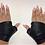 Thumbnail: STRETCH Mitten Gloves BLACK